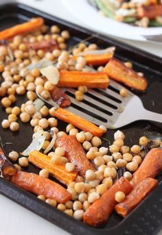 Roasted Carrot and Chickpea Salad by Becca Pusey - Great British Chefs