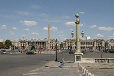 Place De La Concorde.....oh to experience a different culture!
