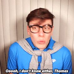 Deceit is a piece of shit omg. But he's pretty cool. Not going to forgive him for pretending to be Patton though Thomas Sanders, Sander Sides, Thomas And Friends, Markiplier, Deceit, Dan And Phil, Favorite Person, Youtubers, Fangirl