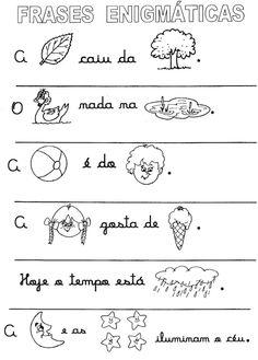 60 Atividades com Cartas Enigmáticas para Imprimir - Educação Infantil - Online Cursos Gratuitos Portuguese Lessons, Fairy Tales For Kids, Kids Math Worksheets, Numbers Preschool, Math For Kids, Learning Spanish, Teaching, 1, Hairstyle