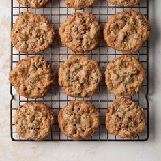 Cookies - These are A-Mazing! You can find one of your favorite ingredients in every bite, whether it's chocolate, coconut, raisins or nuts! Buttery Chocolate Chip Cookies, Walnut Cookies, Oatmeal Cookies, Chocolate Tarts, Spice Cookies, Chocolate Chips, Cookie Recipes, Dessert Recipes, Pie Recipes