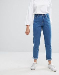 Noisy May High Rise Vintage Straight Fit Jean