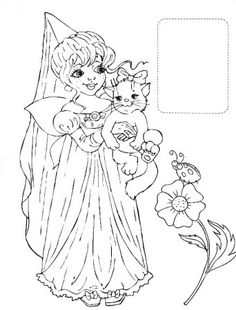 Find This Pin And More On Coloring 3 Pages 27 Princesses Kids