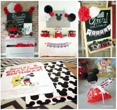 Vintage Mickey Mouse Birthday Party by nellie*design