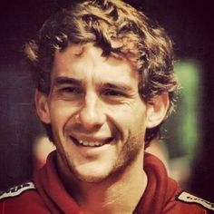 Linda Dalton, a fan, here with Ayrton Senna in 1992    I knew Ayrton in a small…