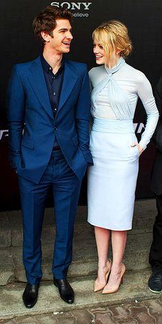 Er Emma stein dating Andrew Garfield 2013