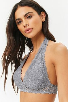 a48458817d aerie Softest Lace Halter Bralette in 2019
