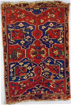 Turkey, rug with quatrefoil design, probably 18th century