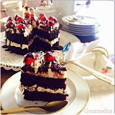 Τούρτα Σοκολάτα χωρίς Γλουτένη, Γαλακτοκομικά και Αυγά Cookbook Recipes, Cooking Recipes, Tiramisu, Birthday Gifts, Recipies, Cheesecake, Deserts, Gluten Free, Ethnic Recipes