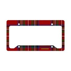 Shop Tartan License Plate Frames from CafePress. Find great designs on durable and weather resistant License Plate Frames to make your car stand out! License Plate Covers, License Plate Frames, Tartan Fashion, Stewart Tartan, Plate Holder, Scottie Dog, Tartan Plaid, My Favorite Color, Favorite Things