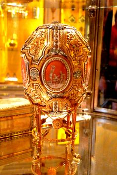 Faberge egg from the collection of Marjorie Merriweather Post