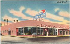 Pontiac dealership circa 1950