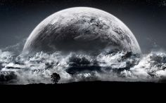 Desktop best pictures of the moon wallpaper