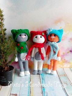 Amigurumi,amigurumi free pattern,amigurumi cat,free pattern crochet cat,crochet toys,handmade toys, el yapımı oyuncak,örgü oyuncak,