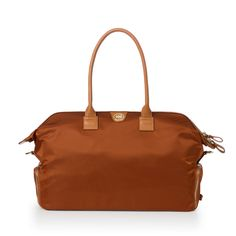 4b67ab12bee Shop JEMMA for the British Tan - Birdie Designer Gym Bag For Women. Made  from