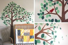 See the whole series here: This week I thought I'd share Yuki's nursery with you. I noticed someone had asked about the rest of the nursery a couple weeks ago when I shared this tutoria…