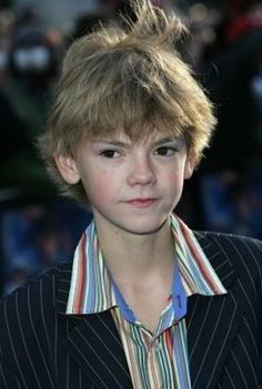 Thomas-Brodie Sangster at the Nanny McPhee London Premiere in 2005.