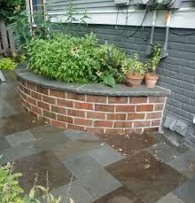 stone raised planters - Google Search