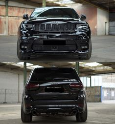 The german tuning company German Motors & Engineering (GME), in cooperation with the American company Edelbrock, has prepared a package for reinforcing the Jeep Grand Cherokee SRT. GME Jeep Grand…More Jeep Grand Cherokee Sport, Grand Cherokee Trailhawk, Slammed Cars, Suv Cars, All Black Jeep, Jeep Srt8, Mopar, Jeep Compass Limited, Chrysler Jeep