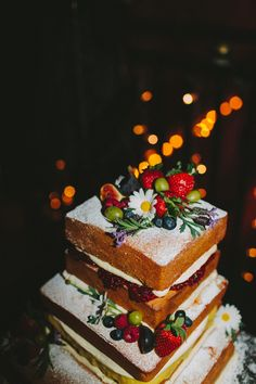 Alternative Wedding Photography Caves | Edinburgh look at all of that yummy oozing jam, great looking #wedding #cake