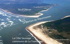Le pertuis de Maumusson entre l'Île d'Oléron et la côte Sauvage de la Tremblade. #Tremblade #Pertuis #Maumusson