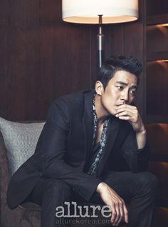 Joo Sang Wook - Allure Magazine November Issue '13