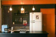 Dele e Dela Kitchen Interior, Kitchen Decor, Kitchen Ideas, Decor Interior Design, Interior Decorating, Happy New Home, Small Apartment Kitchen, Colorful Furniture, Home Decor Inspiration