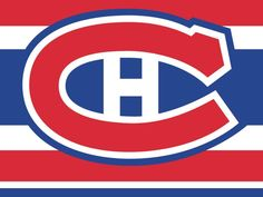 Montreal Canadiens - Logo H Montreal Canadiens, Nhl Logos, Sports Logos, Hockey Players, Masculine Cards, Life Is Like, Chicago Cubs Logo, My Love, Kids Rooms