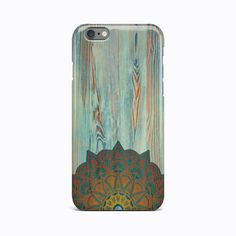 Old Wood Mandala Flower Hard Case Cover Apple iPhone 4 4S 5 5S 5c SE 6 6S 7 Plus #Apple