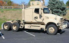 Armored Mack Sleeper - US Army