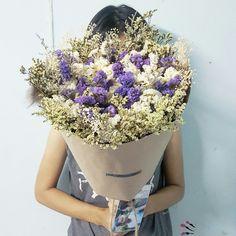 ช่อดอกไม้แห้ง