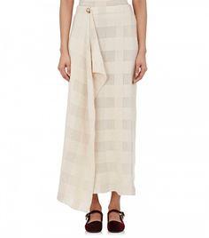 The Row Wrap Skirt