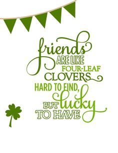 Occasionally Crafty: St. Patrick's/Best Friends Printable- and a Shout Out to MY Best Friends