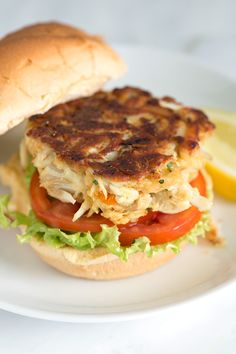 The best Maryland-Style Crab Cake Recipe from inspiredtaste.net