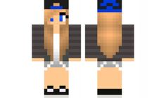 minecraft skin Edit-Cool-girl Find it with our new Android Minecraft Skins App: https://play.google.com/store/apps/details?id=the.gecko.girlskins
