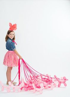 Giant Paper Flower Party Hats