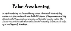 Funny narcolepsy cartoons | Dreaming #False awakening #Typography #Me I hate when this happens!