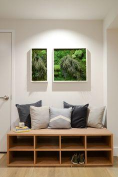 1000 images about ideas para el hogar on pinterest - Bancos para recibidor ...