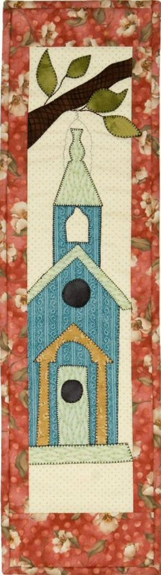 Patch Abilities Inc.  Available at www.patchabilities.com P109C Sunday Birdhouse (That's For the Birds!)