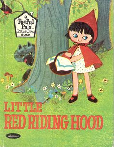 """Peepul Pals!  These books came along with the cutest little doll sets, in a plastic """"playhouse"""" carrier. 1967"""