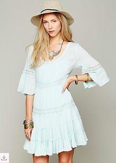 free people daisy lace dress