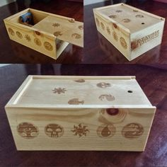 Super Cool magic: the gathering/MTG Deck Box