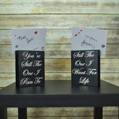 Check out this item in my Etsy shop https://www.etsy.com/listing/475712539/wedding-gift-bedside-card-holders-love