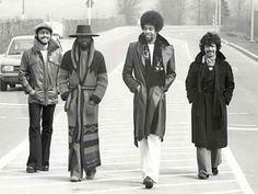 Lenny White, Stanley Clarke, Chick Corea, Al di Meola; Gimme that badass sweater coat.