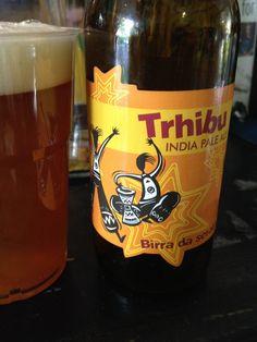 Hibu Trhibu Brewed by Birrificio Hibu Style: India Pale Ale (IPA) Bernareggio (MB), Italy