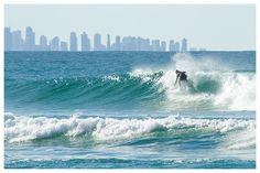 Surfin Coolnagatta on the Gold Coast, Australia