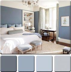 2014 blue color palettes for decorating | Monochromatic Color Scheme for Interior Design