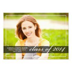 Laurels 2014 Graduation Party Invitation 2018 Graduation