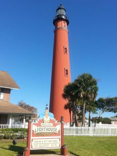 The tallest lighthouse in Florida - the Ponce de Leon, Ponce Inlet, FL