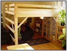96 Best Adult Loft Beds Images In 2019 Lofted Beds Bedroom Ideas